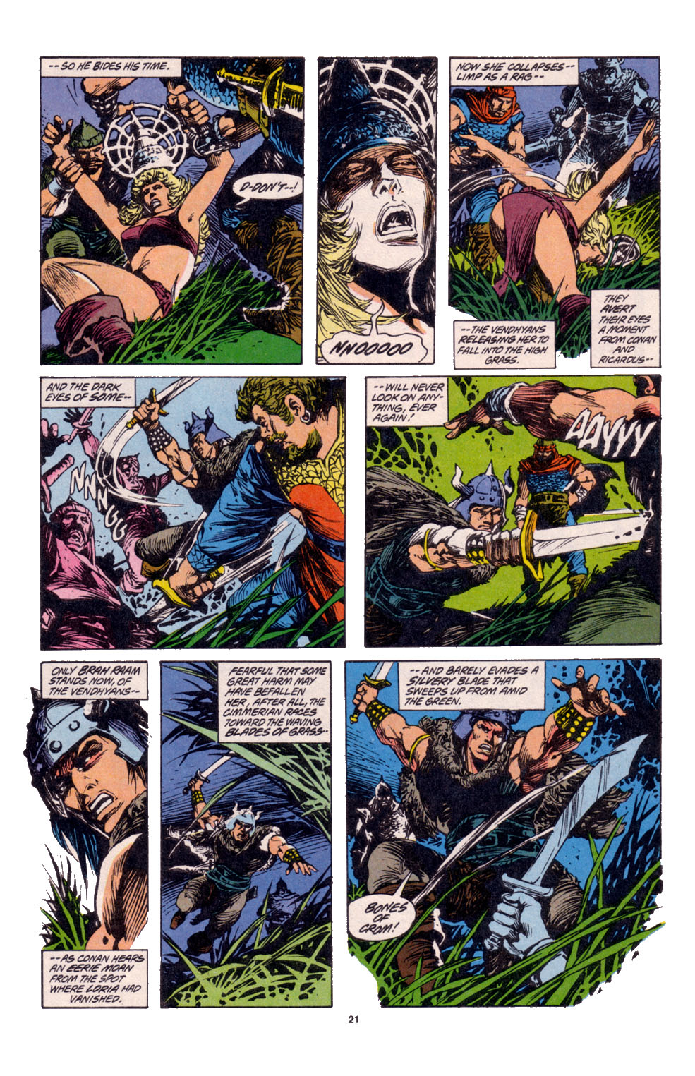 Conan the Barbarian (1970) Issue #261 #273 - English 17