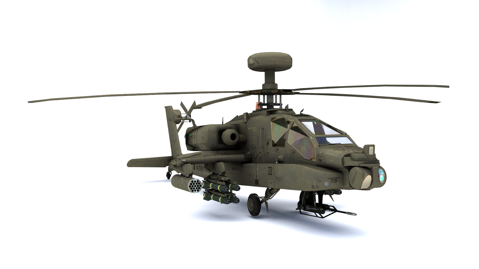 Apache Longbow Helicopter Wallpaper 3d-model us-apache-longbowApache Longbow Helicopter