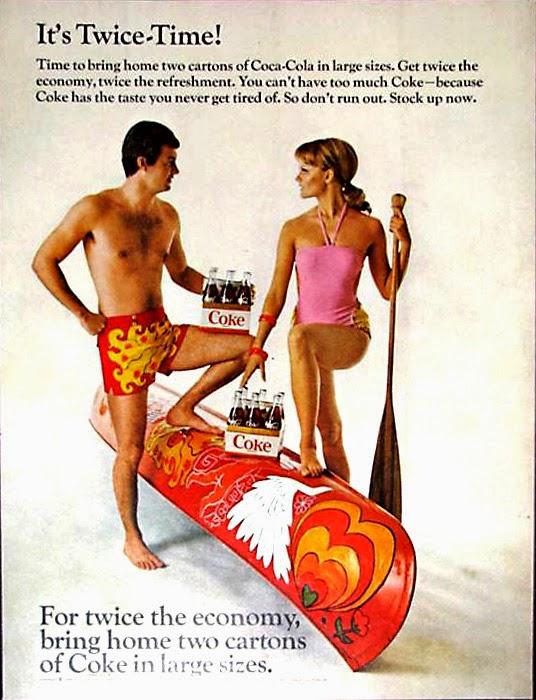 vintage everyday: Coca-Cola Magazine Ads from 1960s