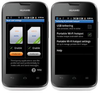 Gambar Huawei Ascend Y210D Android Murah 3G Dual SIM