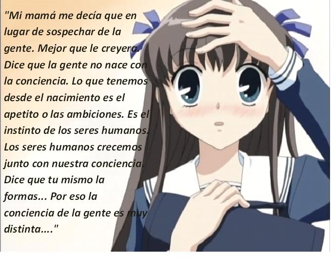 Frases con fotos del anime. Thoru1