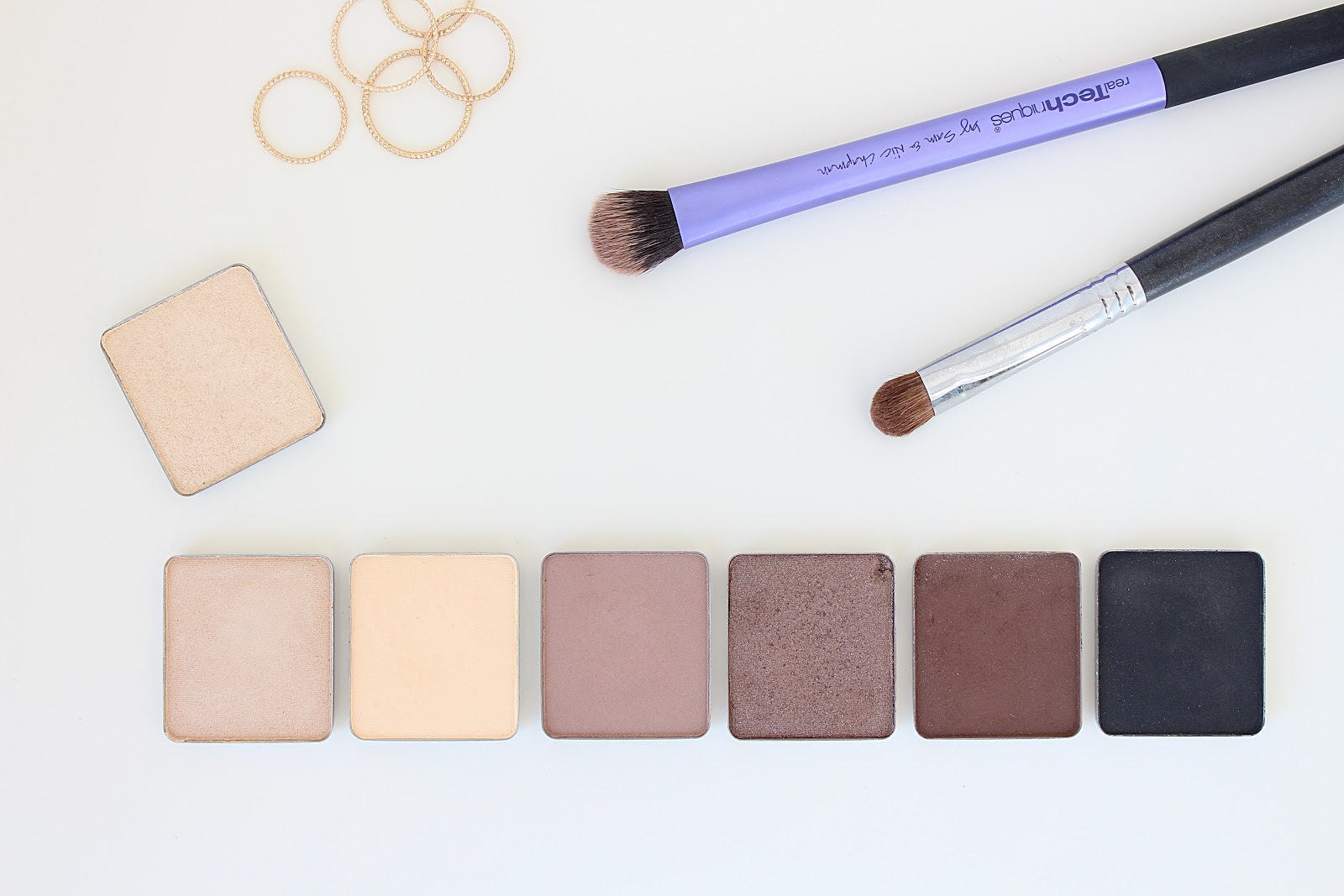 Inglot Neutral Smokey Eye Palette Swatches and Review