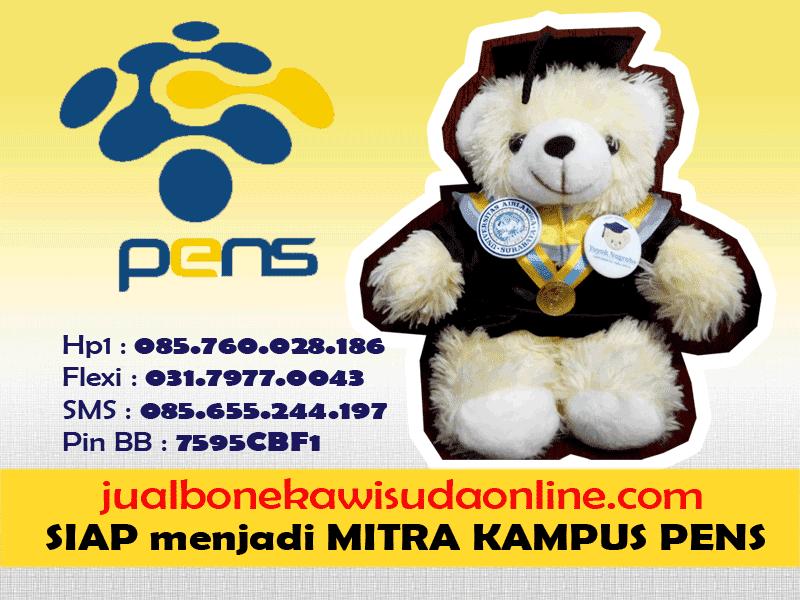 Boneka Wisuda Politeknik Elektronika Negeri Surabaya | Jual Boneka Wisuda PENS