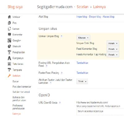 Cara Menyatukan Dua Buah Blog Di Blogger