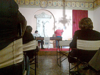 presentazione libro Le invarianti della Tomba Brion. Franz Falanga e Andrea Fantinato