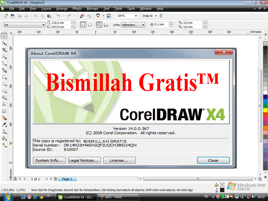 Coreldraw x4 graphics suite crack