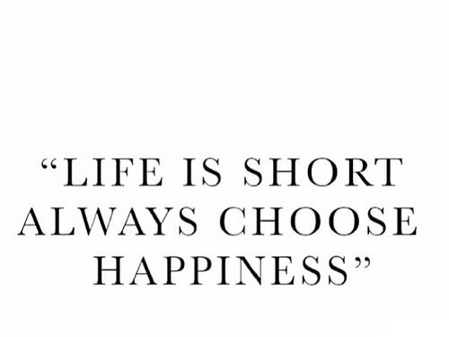 Simple things that make me happy