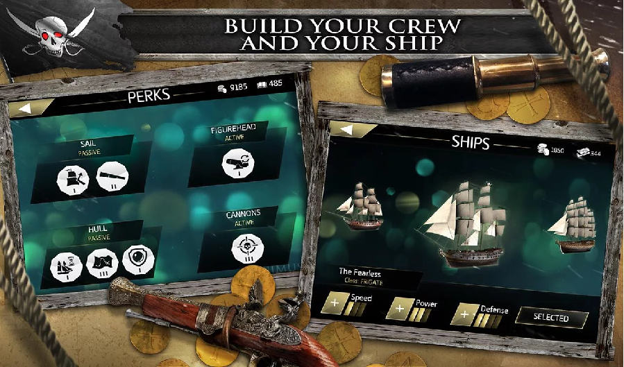 Assasins Creed Pirates v2.1.1 Apk Data for Android