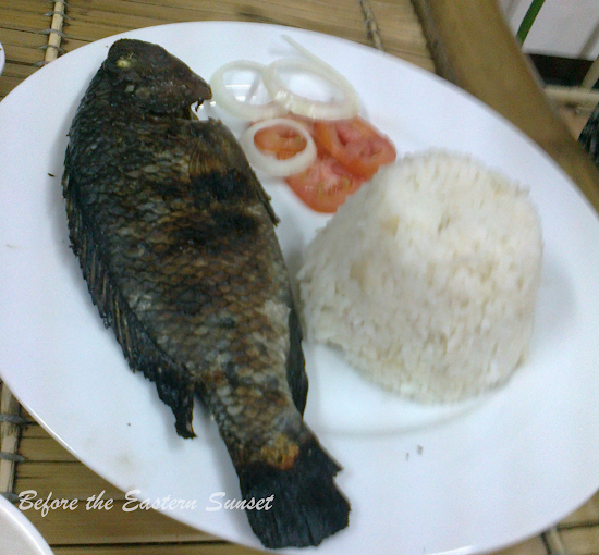 Chub's grilled tilapia
