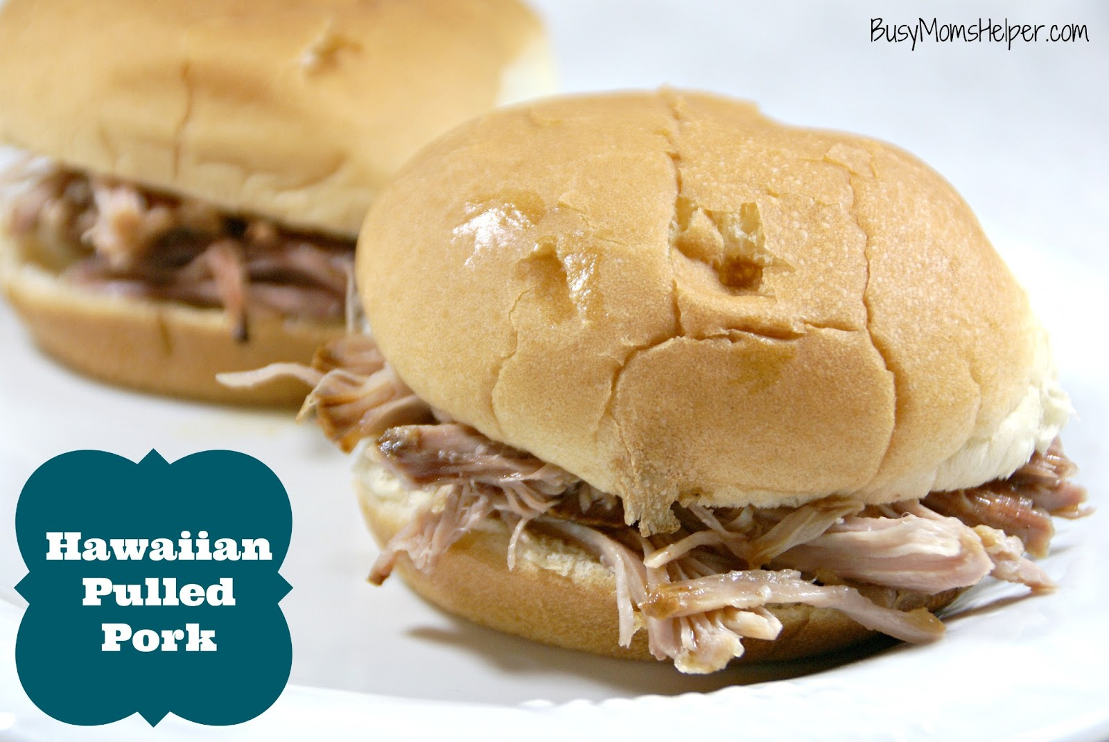 Hawaiian Pulled Pork - Busy Moms Helper