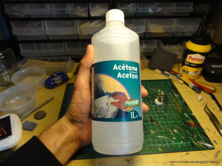 Acetone paint stripper