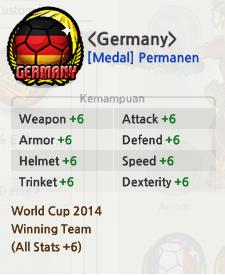 Medal Jerman di Lost Saga