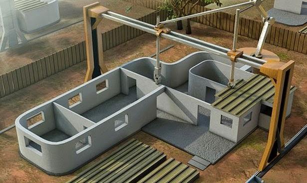 Printer 3D Super Canggih Yang Dapat Membangun Rumah Dalam Waktu Singkat