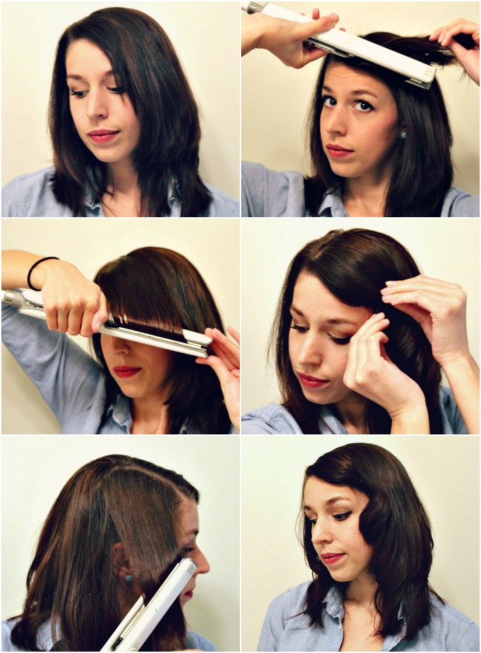 how to put volume in your hair with a straightener