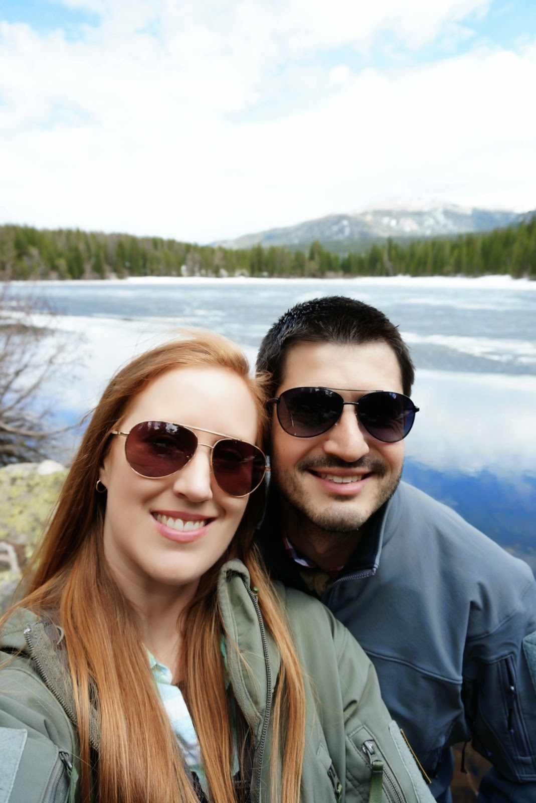 Jessica Mack and Jonathan Wegner Bear Lake Estes Park Colorado