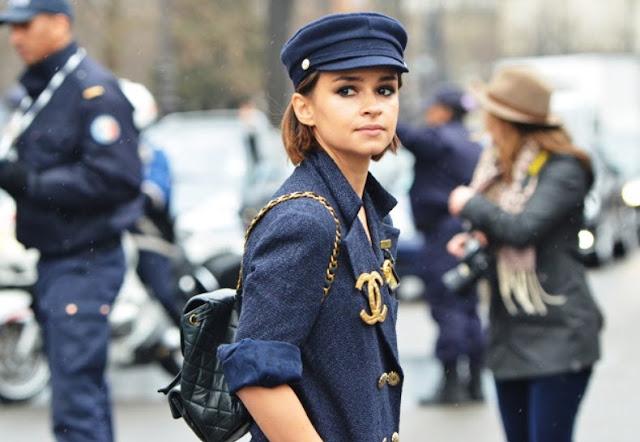 Vogue Russia Editor Street Style Miroslava Duma Chanel