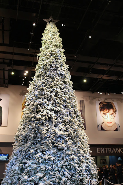 Christmas Tree Harry Potter studio tour