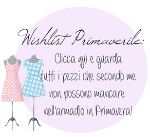 Wishlist Primaverile