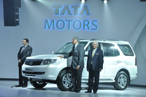 New Tata Safari Storme, earlier Merlin now unveiled at Auto Expo