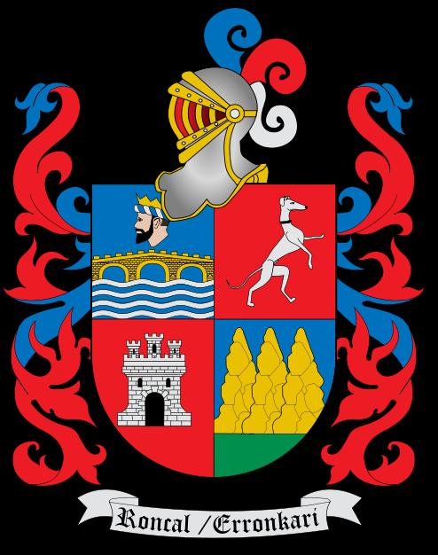 Brasão do Vale do Roncal, Navarra, Espanha