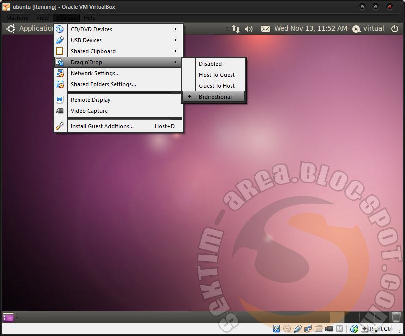 Cara Mudah Mengkopi File ke VirtualBox Ubuntu