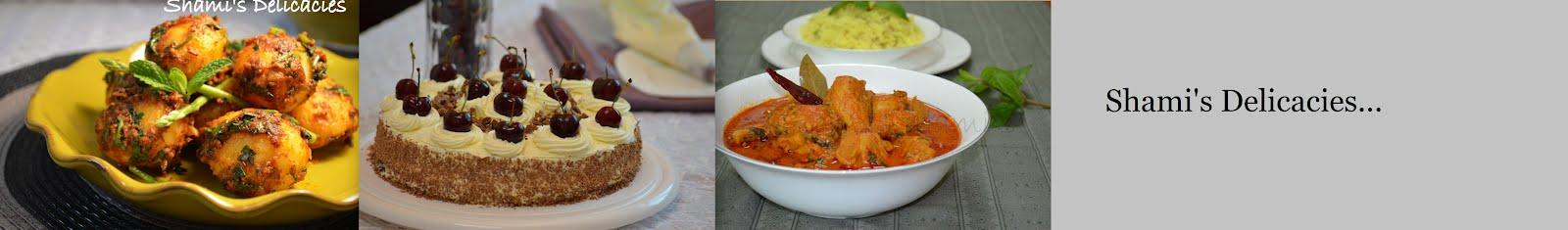 Shami's Delicacies