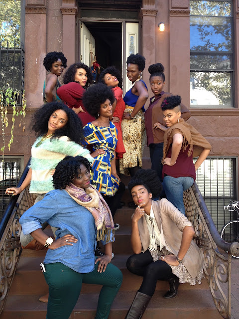 hey fran hey, chescaleigh, urban bush babes,around the way curls, carol's daughter, transitioning movement