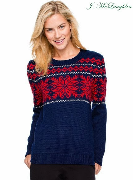A Touch of Southern Grace : Fair Isle Sweater