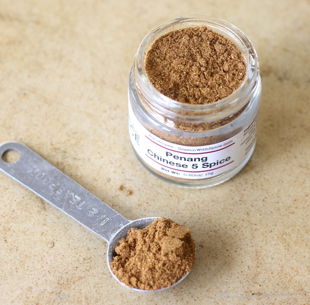 Penang Chinese Five Spice powder from SeasonWithSpice.com