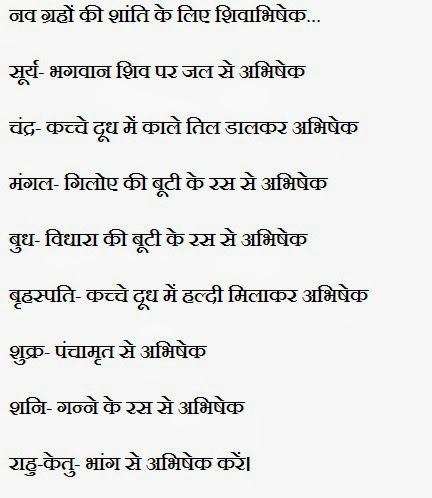 Navgrah shanti abhishek