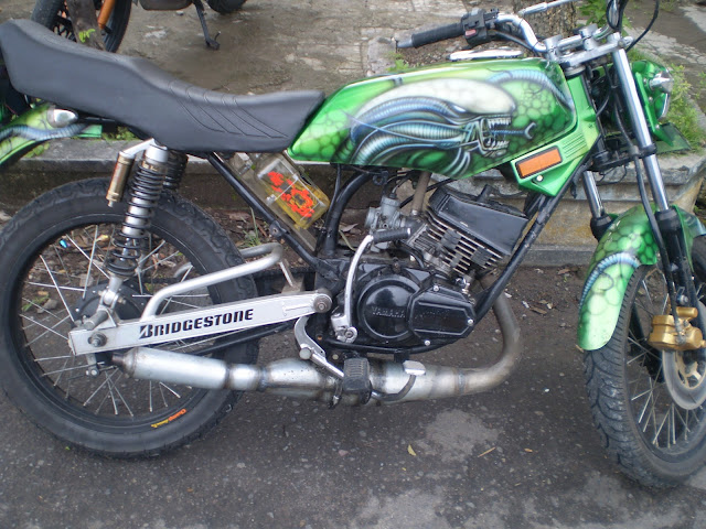 Yamaha RX KING Surakarta,Spec Modification title=