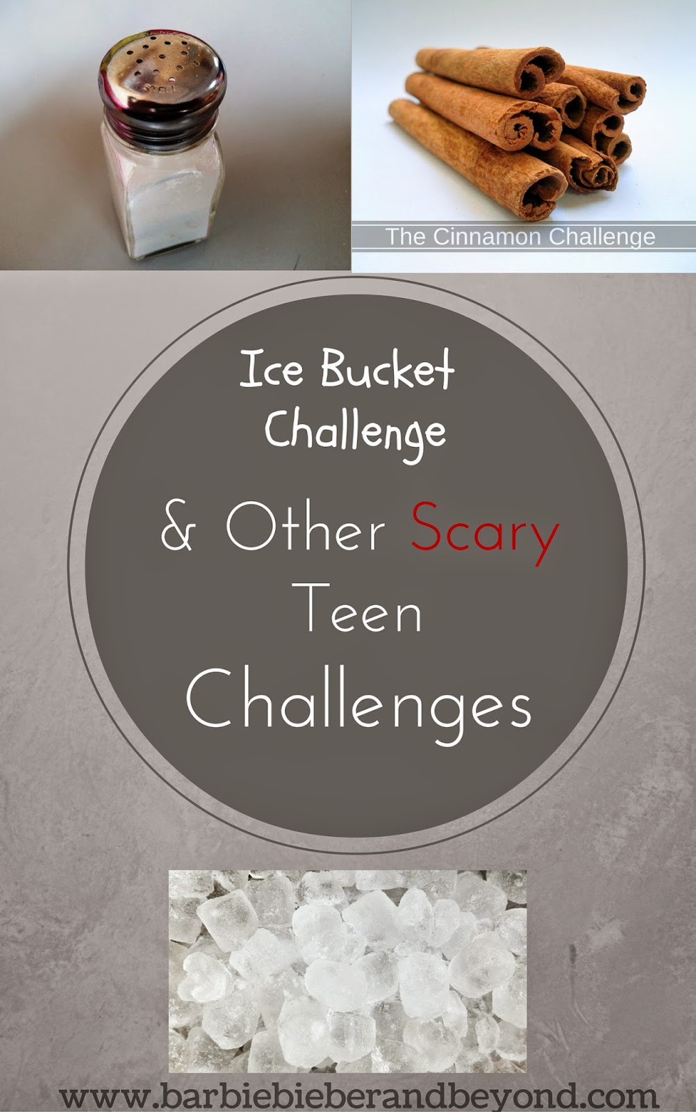 Ice Bucket Challenge And Scary Teen Challenges Barbie