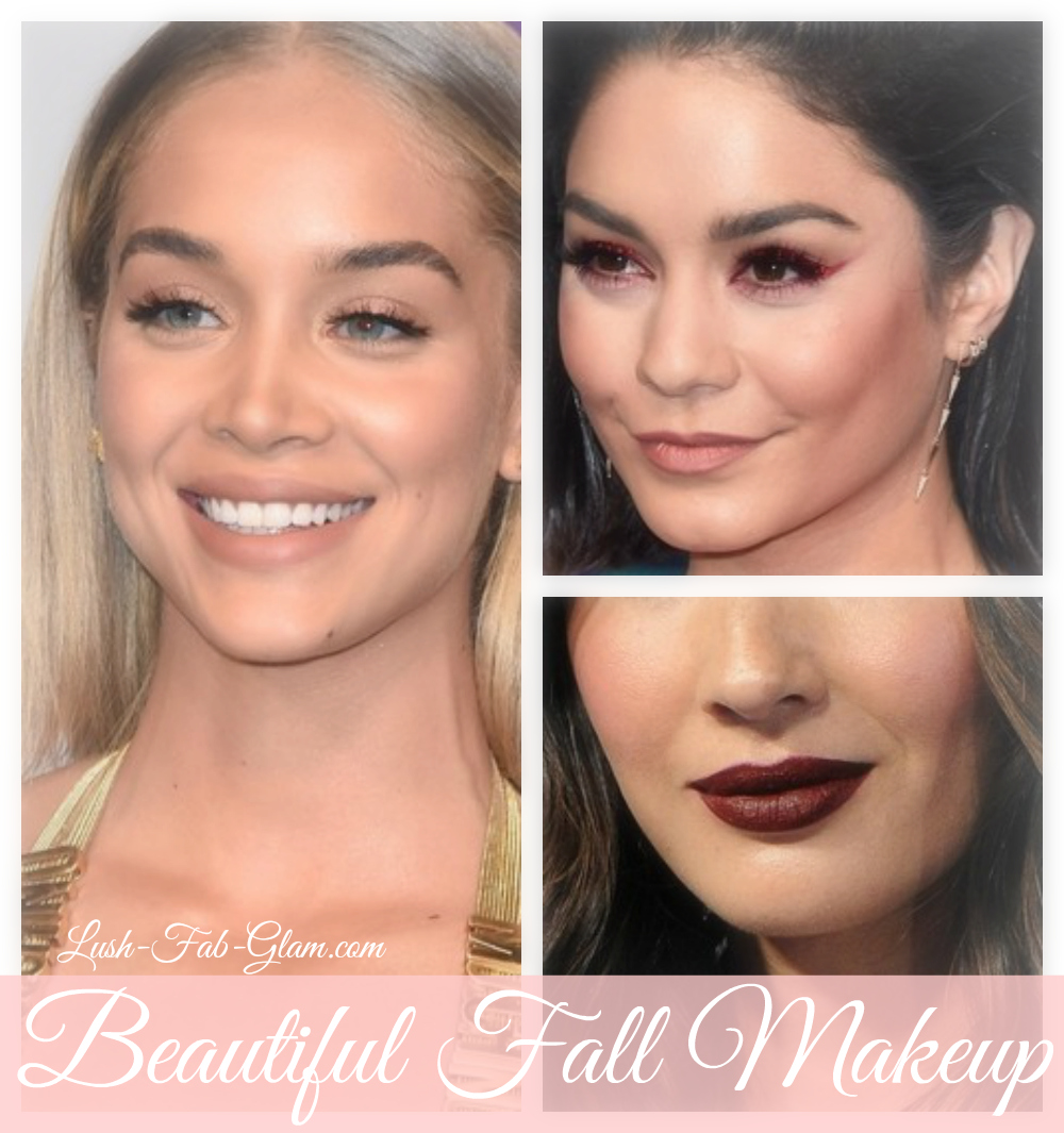 Red Carpet Inspired Fall Makeup