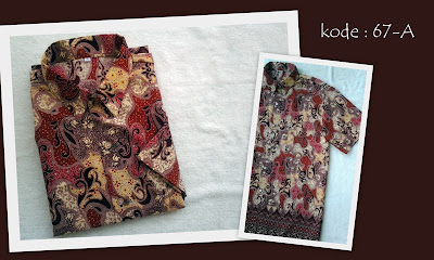 Baju Batik Pria 67A