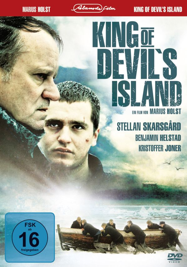 King of Devil&#180;s Island DVD Cover