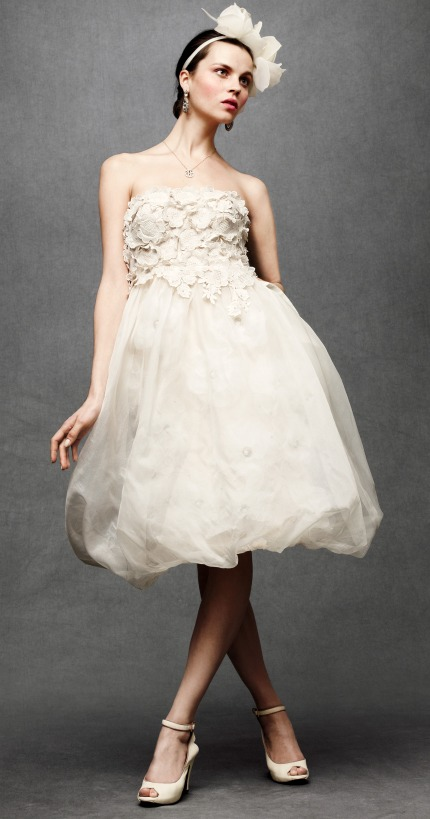 Ruffles Amp Tweed ANTHROPOLOGIE WEDDING DRESS PREVIEW