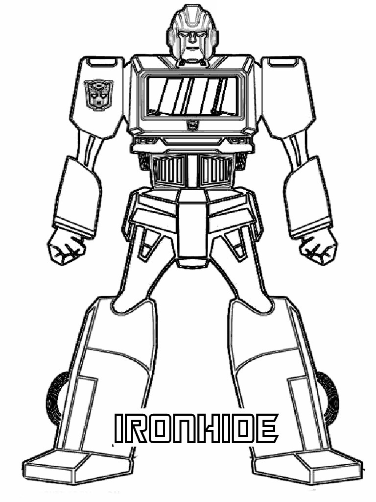 hasbro transformer coloring pages - photo#4