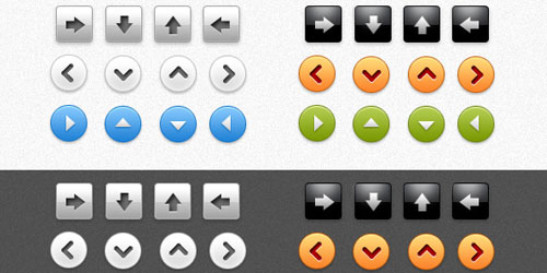 Free Web Arrow Buttons Download