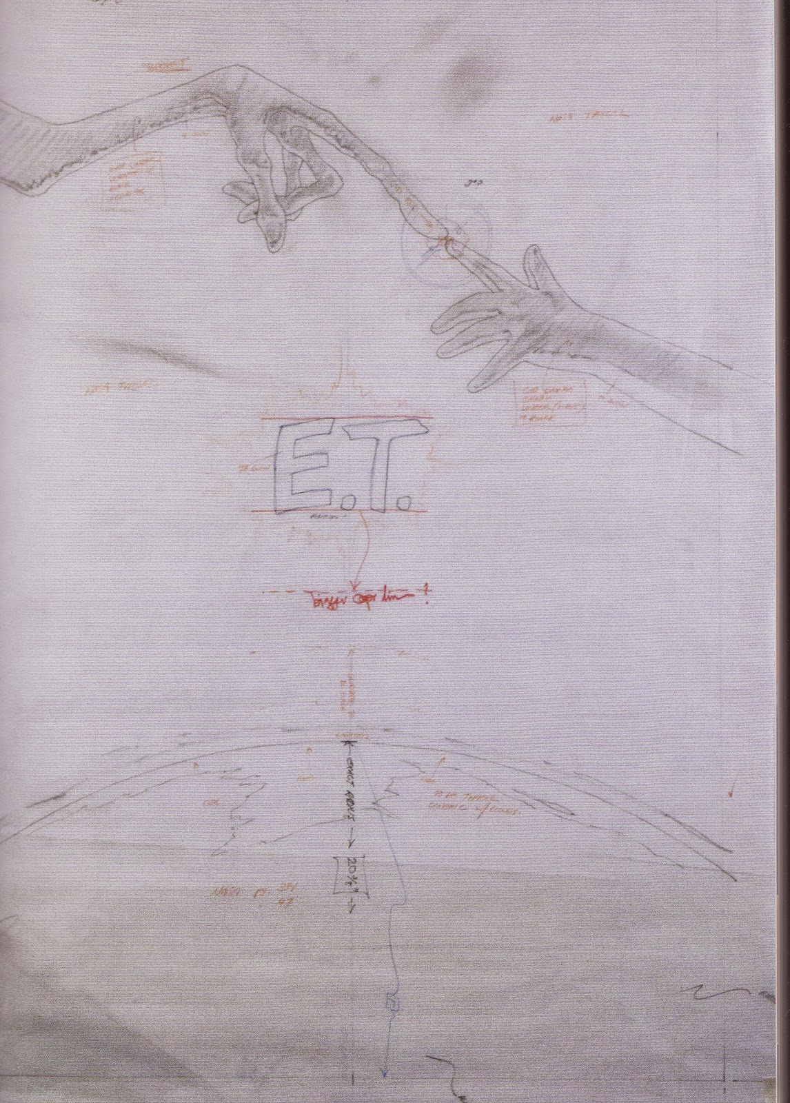 e.t. concept art