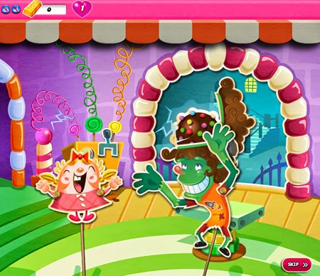 Candy Crush Saga 756-770 ending