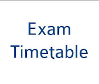 Inter Advanced Supplementary Examination Time Table 2013