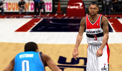 NBA 2K13 Bradley Beal Cyberface NBA2K Patch