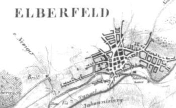 Situationsplan 1837, Elberfeld