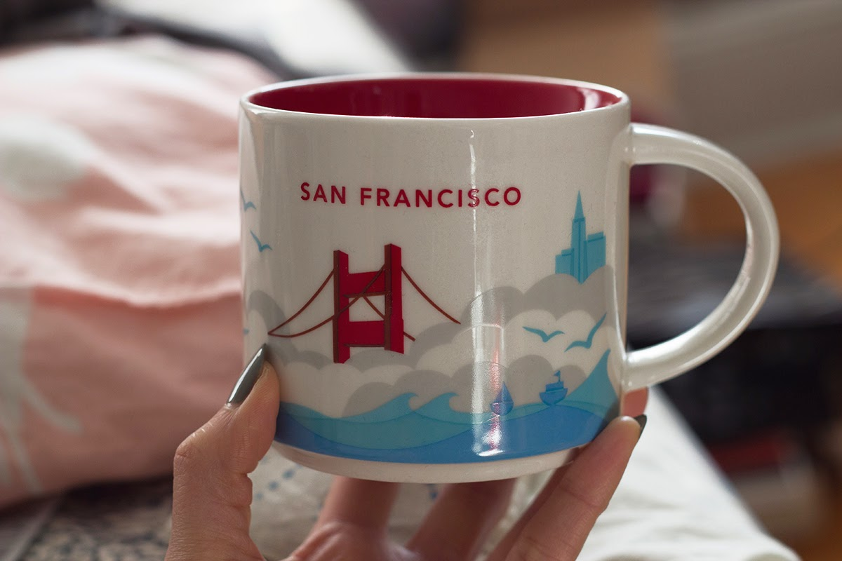 starbucks you are here san francisco mug