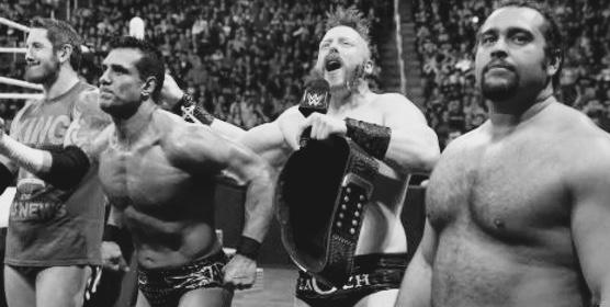 Raw Sheamus Del Rio Rusev King Barrett Title History