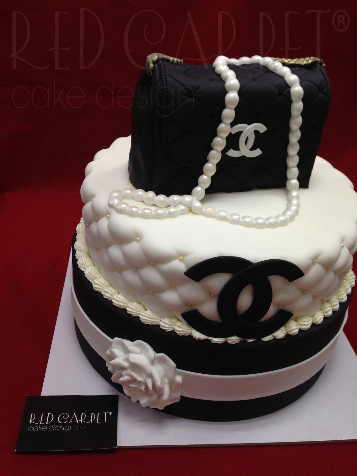 CHANEL BAG CAKE-by #RedCarpetCakeDesign® | Red Carpet Cake Design®