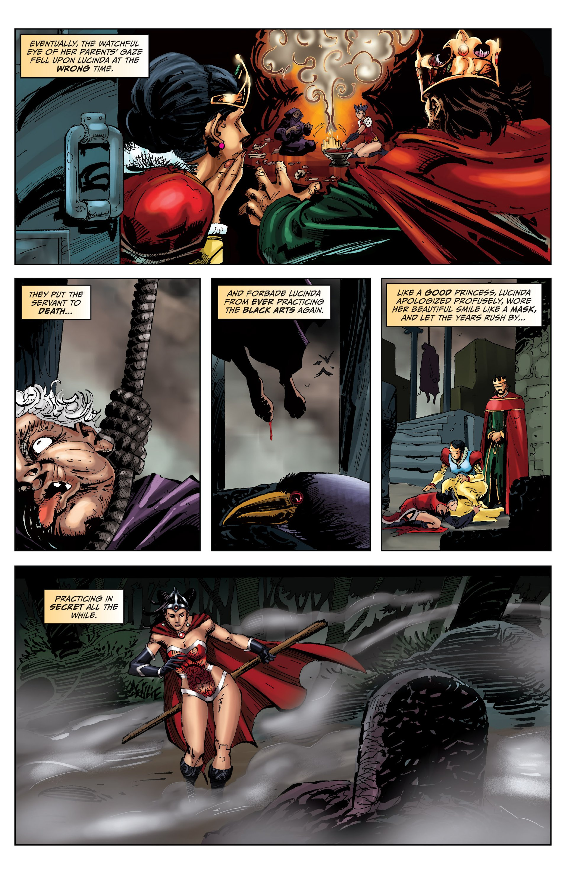 Grimm Fairy Tales (2005) Issue #88 #91 - English 12