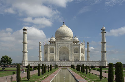 Year Taj Mahal was Built and architecture of Shah Jahan