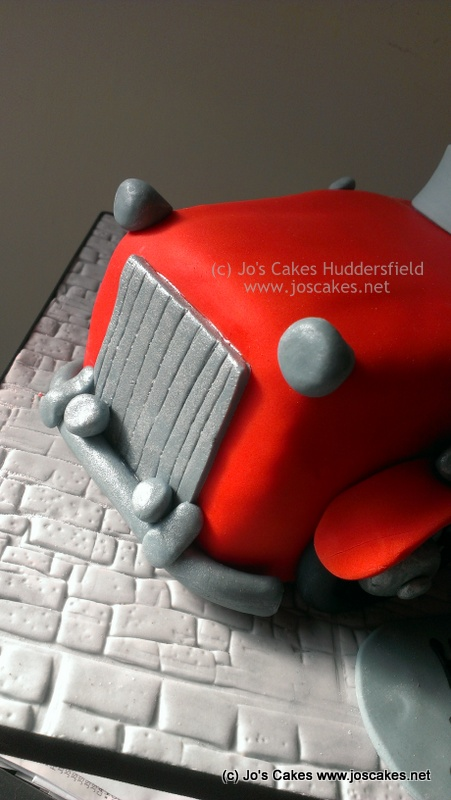 Jos Cakes Classic Car Birthday Cake