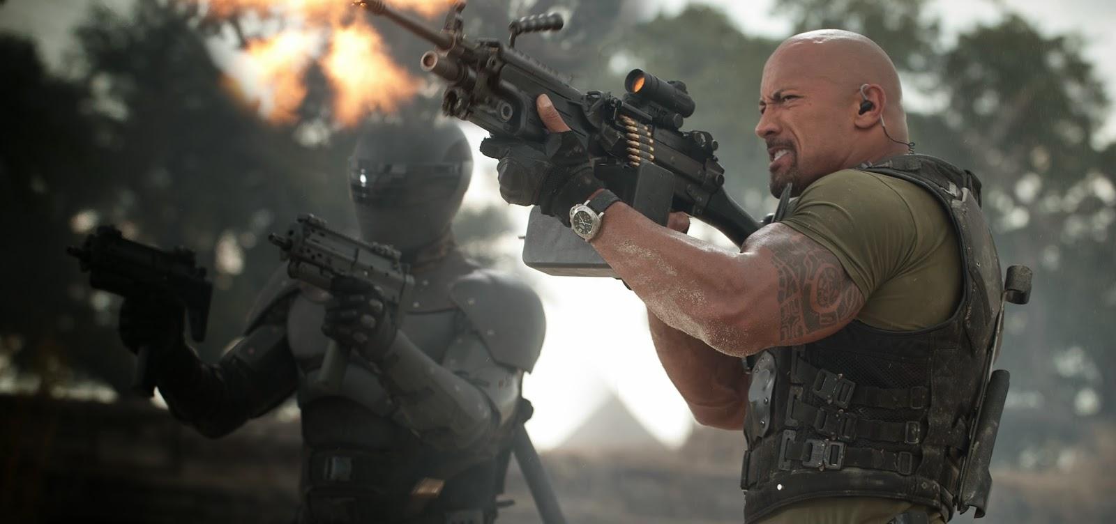 G.I. Joe 3 | Estúdio contrata roteirista da sequência que vai centralizar-se no personagem de Dwayne Johnson